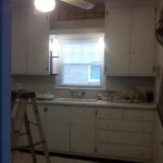 Before image, kitchen remodel project.